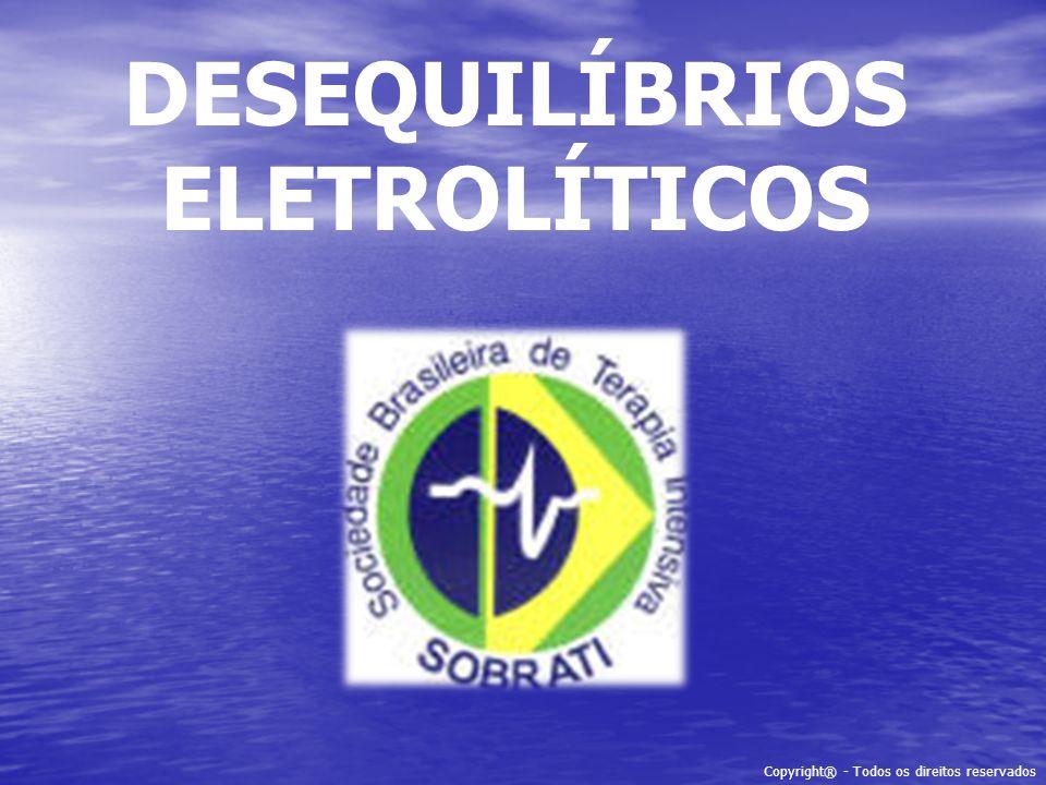 DESEQUILÍBRIOS ELETROLÍTICOS