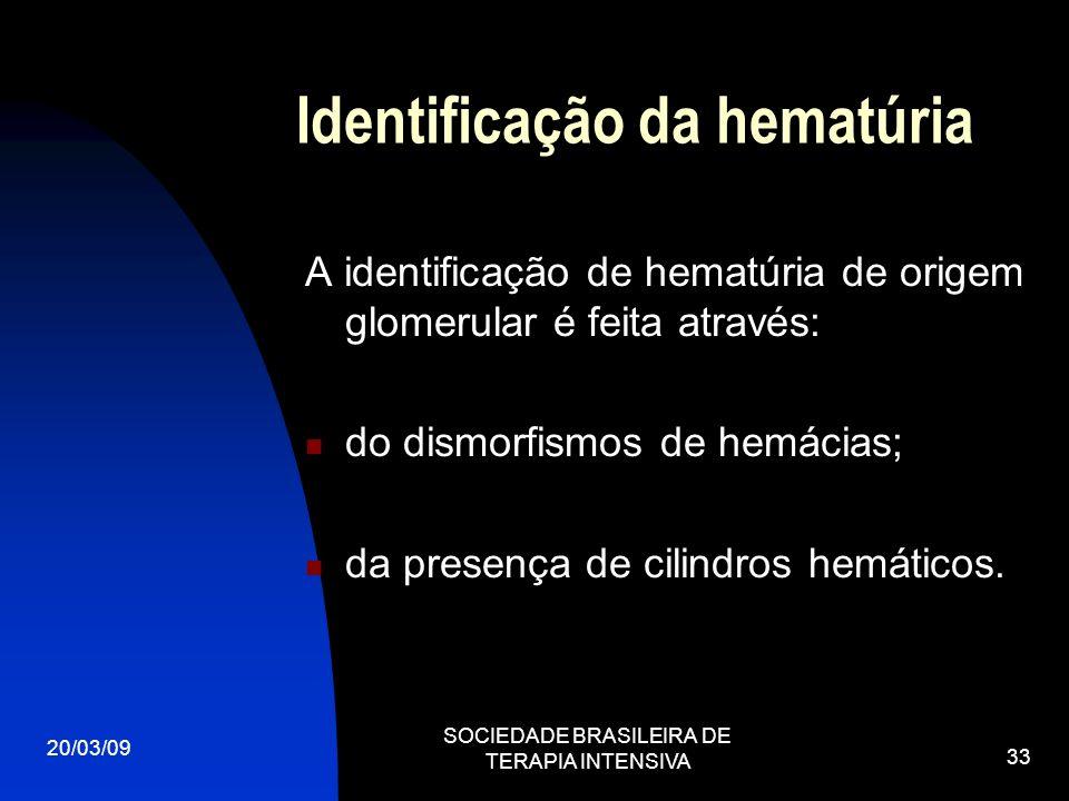 Identificação da hematúria
