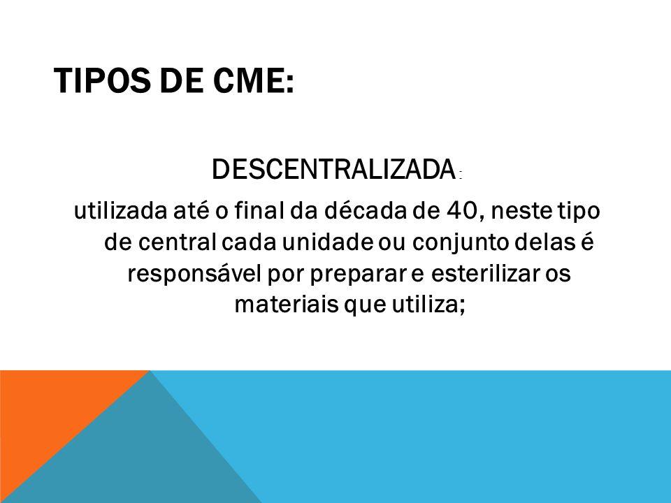 TIPOS DE CME: DESCENTRALIZADA :
