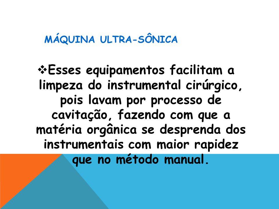 MÁQUINA ULTRA-SÔNICA