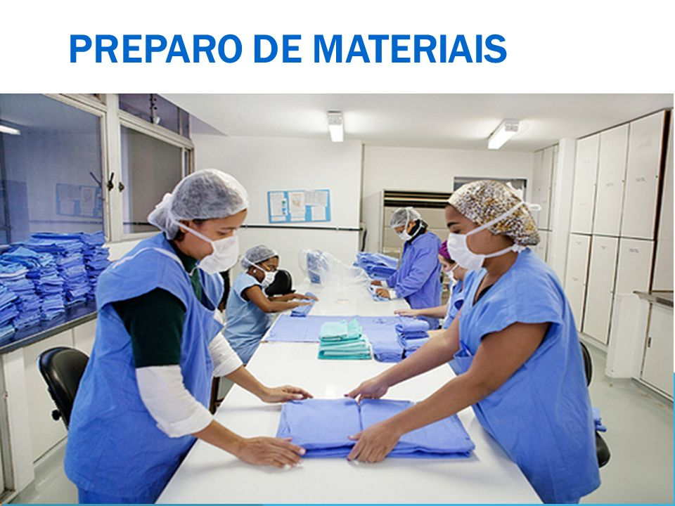 PREPARO DE MATERIAIS