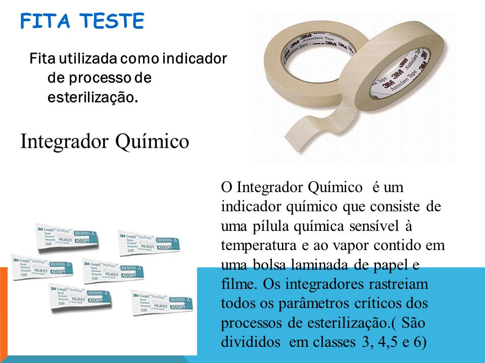 Integrador Químico FITA TESTE