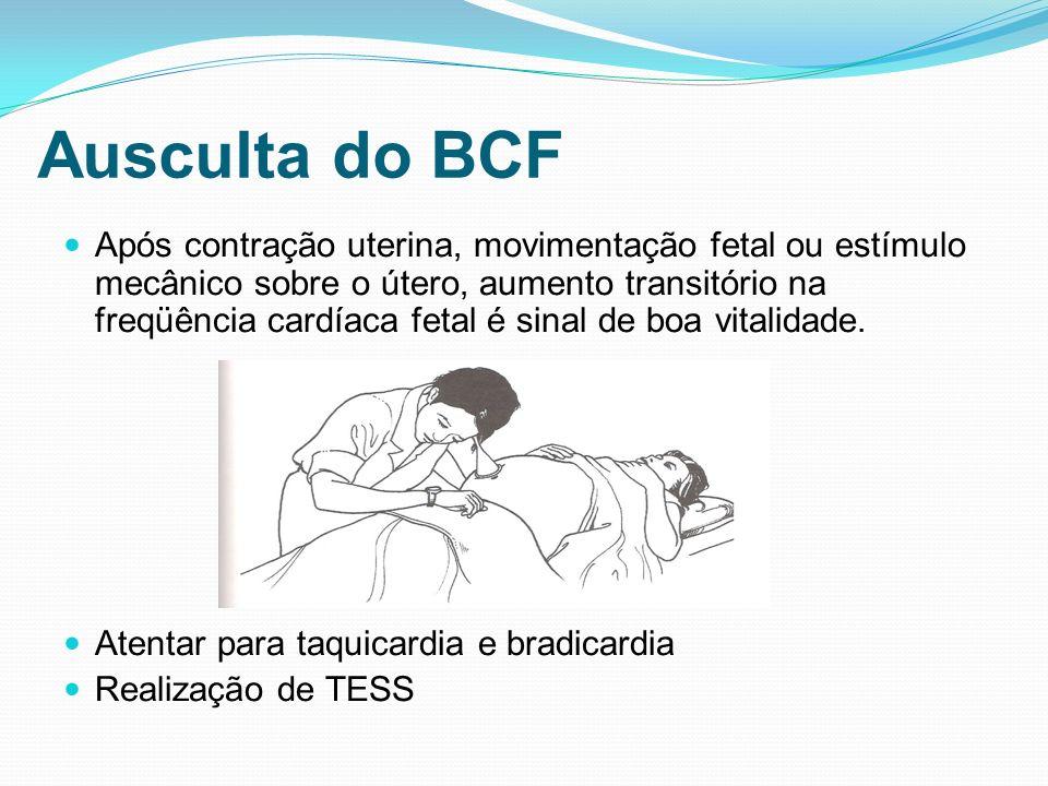 Ausculta do BCF