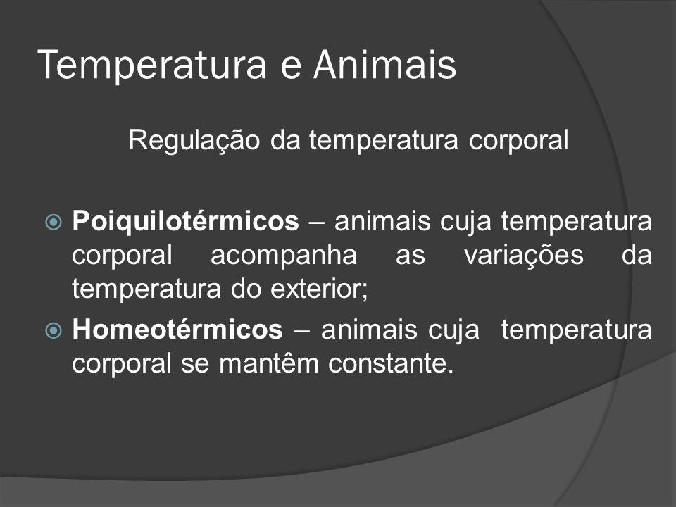 Regulação da temperatura corporal