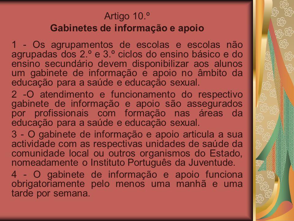 Gabinetes de informação e apoio