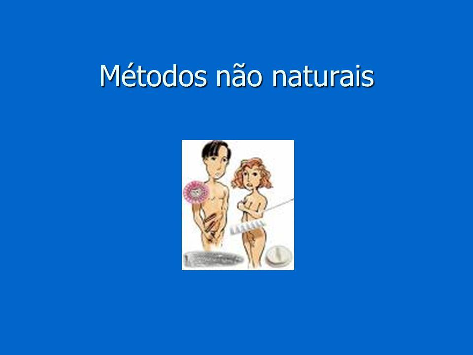 Métodos não naturais