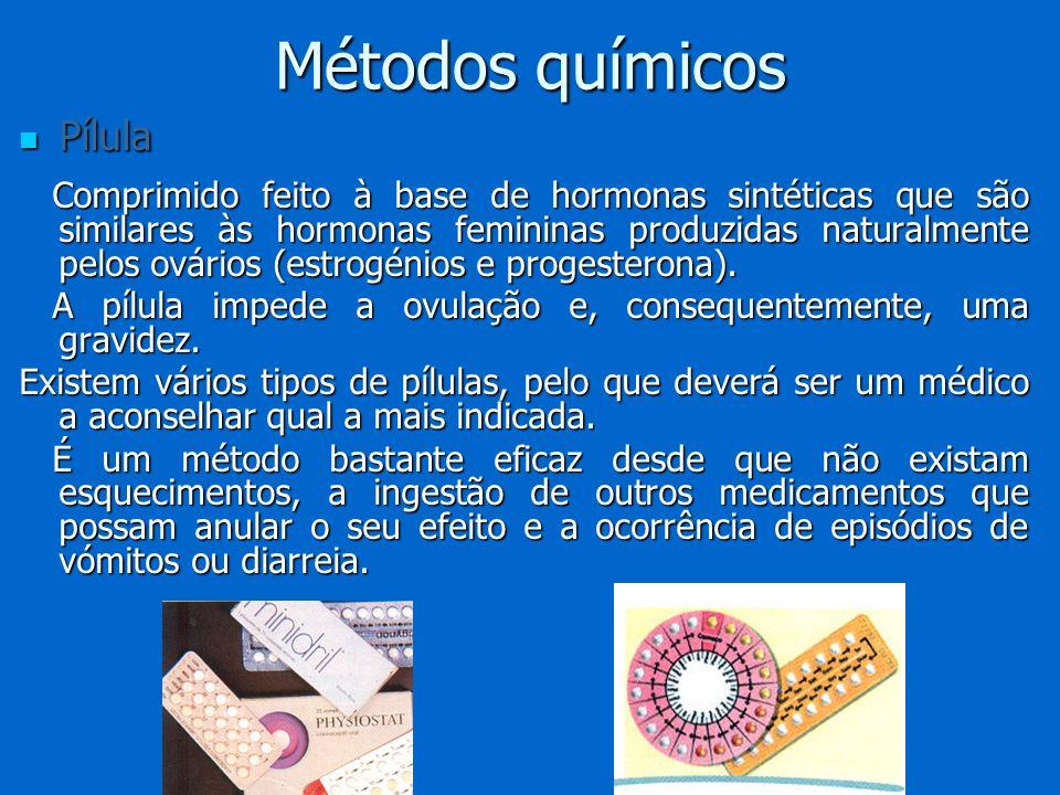 Métodos químicos Pílula