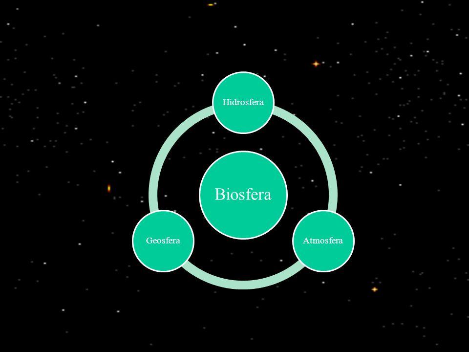 Biosfera Hidrosfera Atmosfera Geosfera