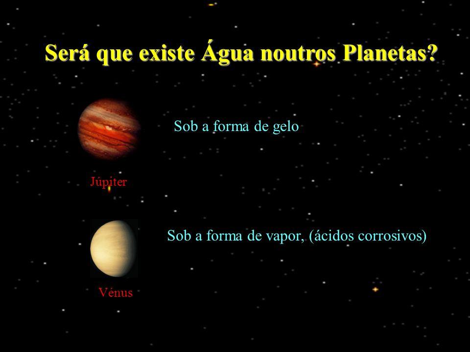 Será que existe Água noutros Planetas