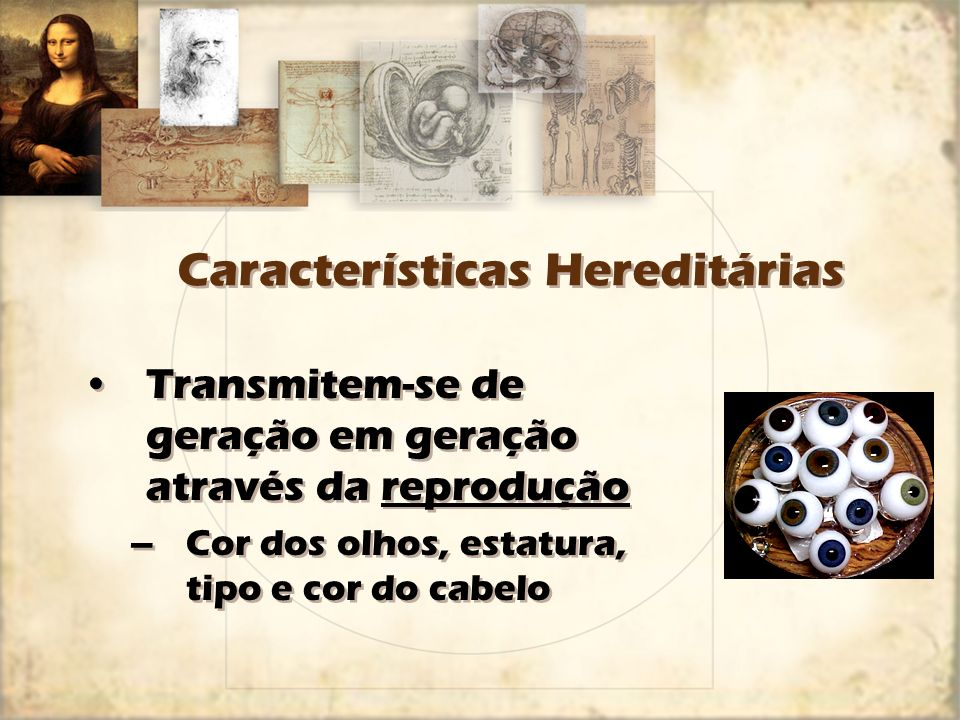 Características Hereditárias
