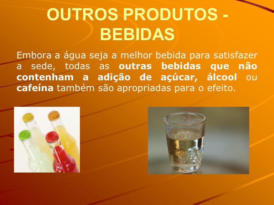 OUTROS PRODUTOS - BEBIDAS