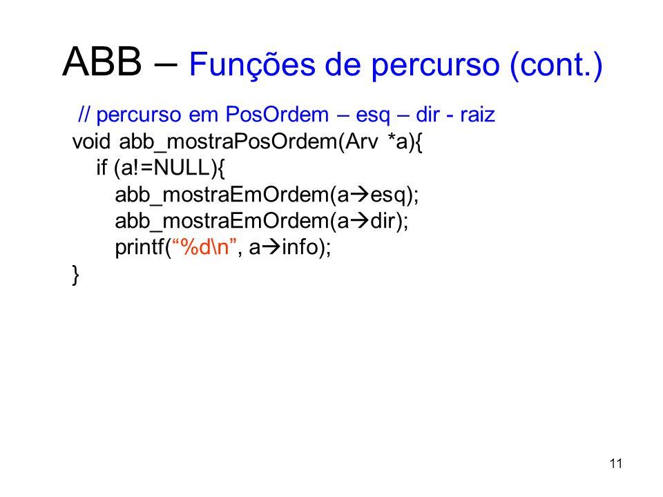 ABB – Funções de percurso (cont.)