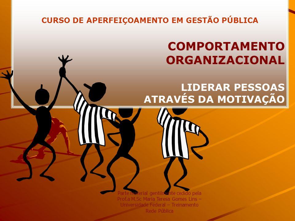 CURSO DE APERFEIÇOAMENTO EM GESTÃO PÚBLICA