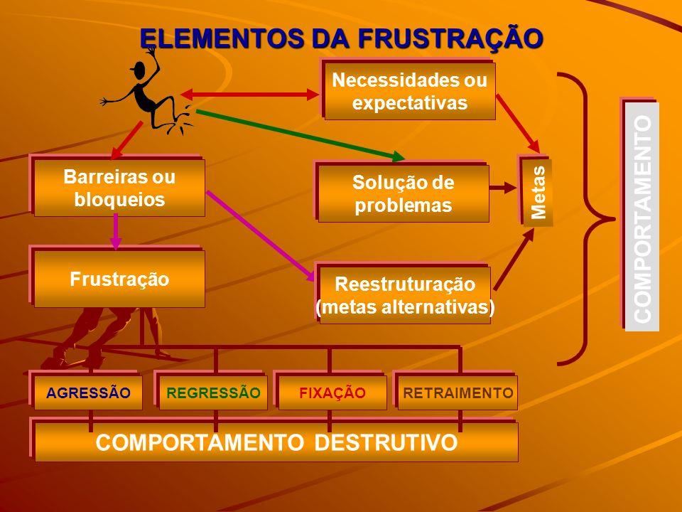 ELEMENTOS DA FRUSTRAÇÃO