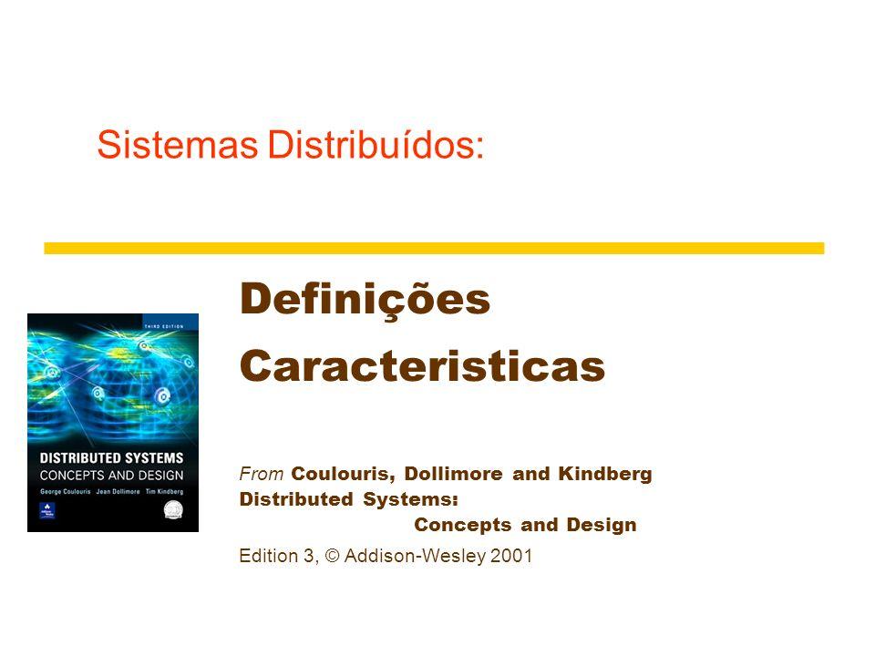 Sistemas Distribuídos: