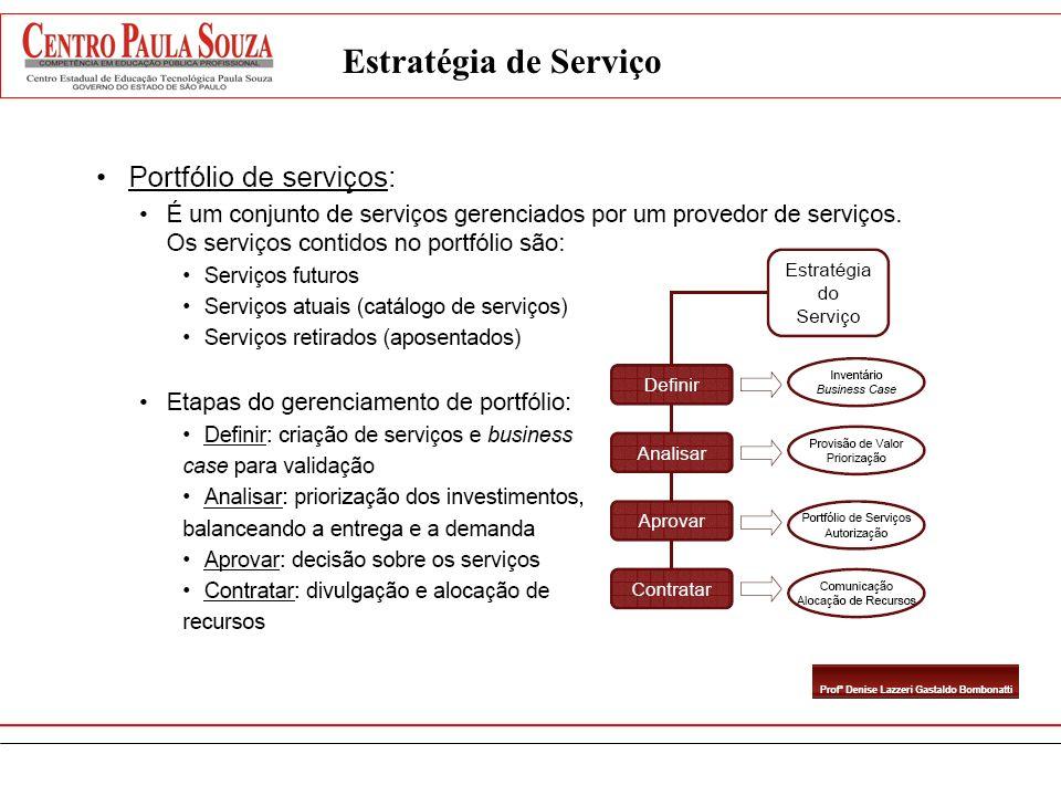 Estratégia de Serviço