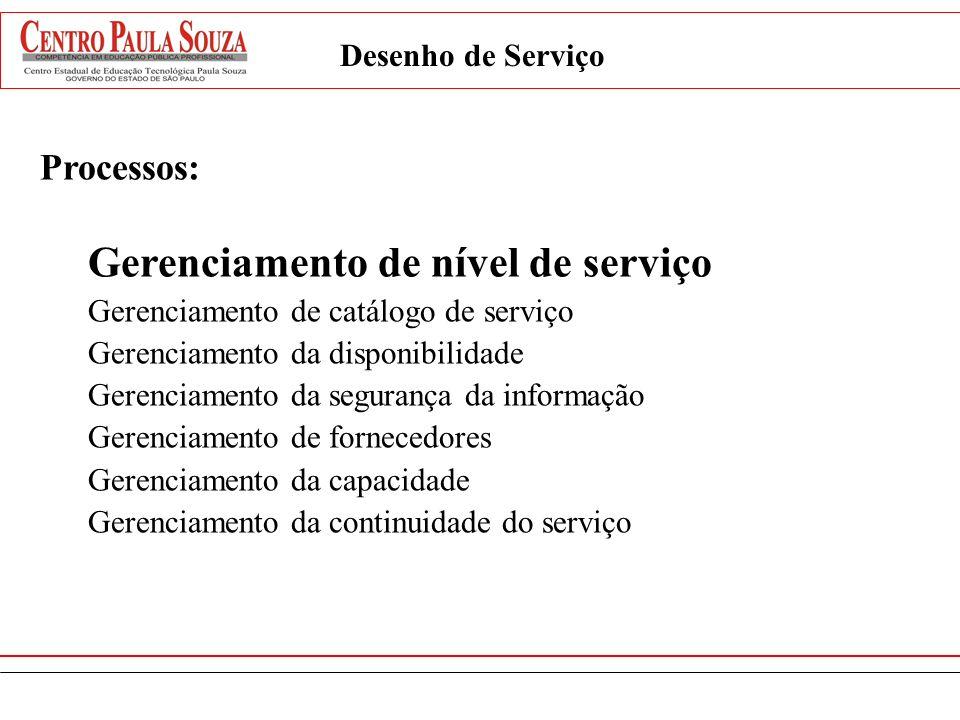 Gerenciamento de nível de serviço