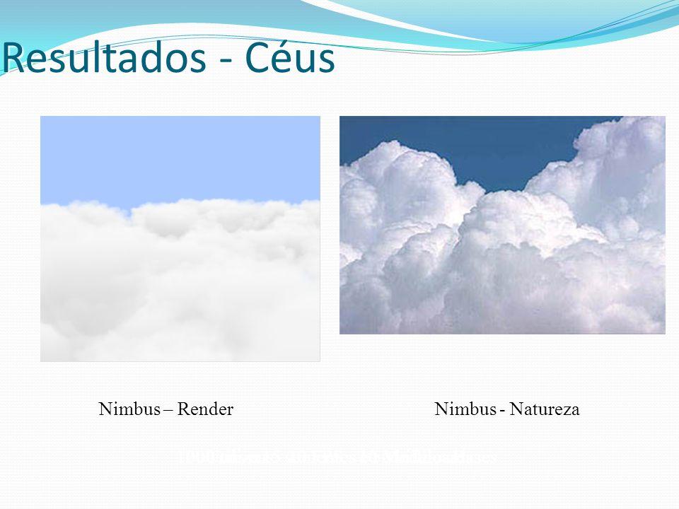Resultados - Céus Nimbus – Render Nimbus - Natureza