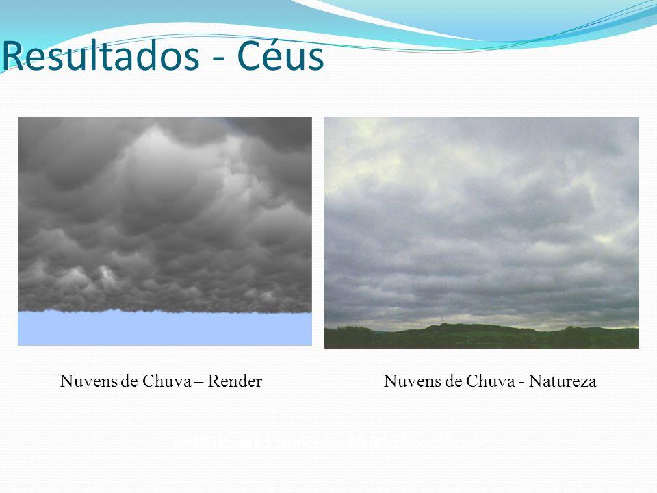Resultados - Céus Nuvens de Chuva – Render Nuvens de Chuva - Natureza