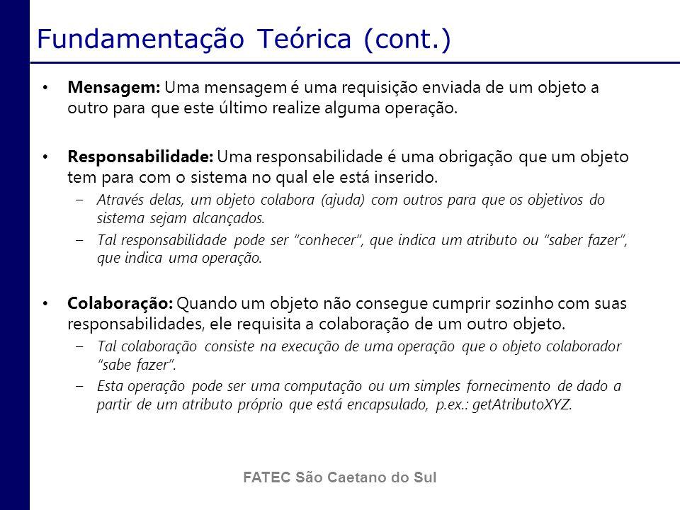 Fundamentação Teórica (cont.)