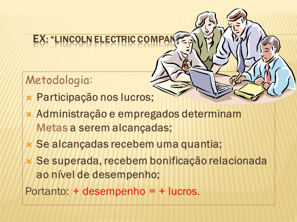 Ex: Lincoln Electric Company
