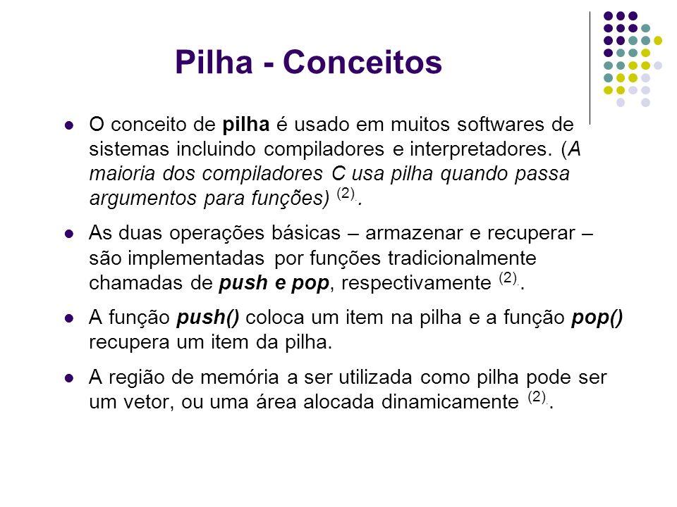 Pilha - Conceitos