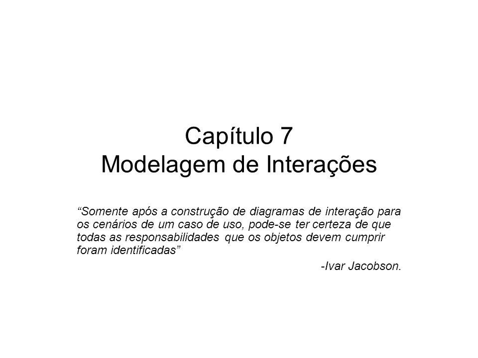Capítulo 7 Modelagem de Interações