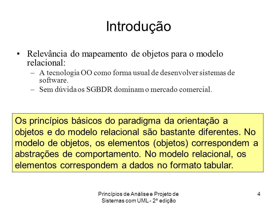 Princípios de Análise e Projeto de Sistemas com UML - 2ª edição