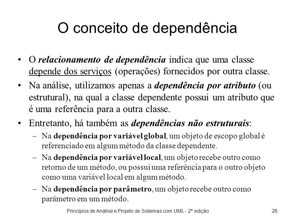 O conceito de dependência