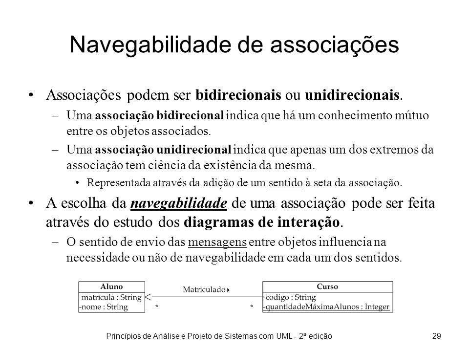 Navegabilidade de associações