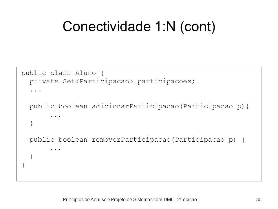 Conectividade 1:N (cont)