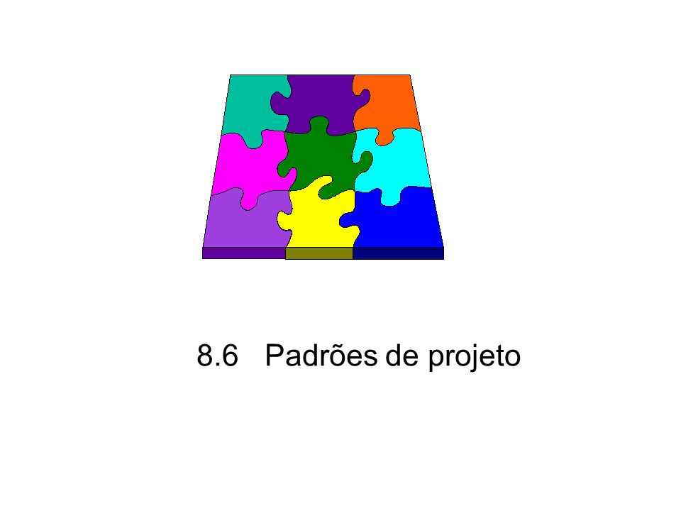 8.6 Padrões de projeto