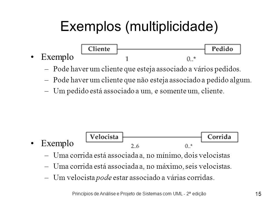 Exemplos (multiplicidade)