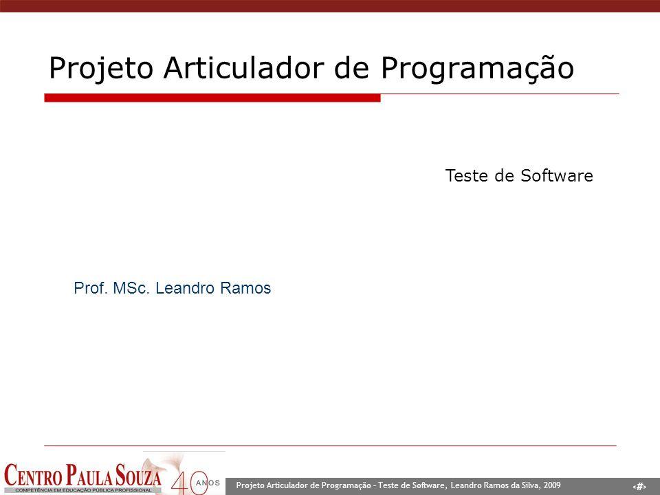Projeto Articulador de Programação