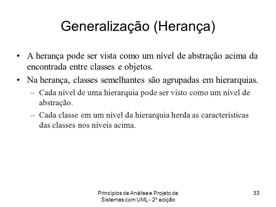 Generalização (Herança)