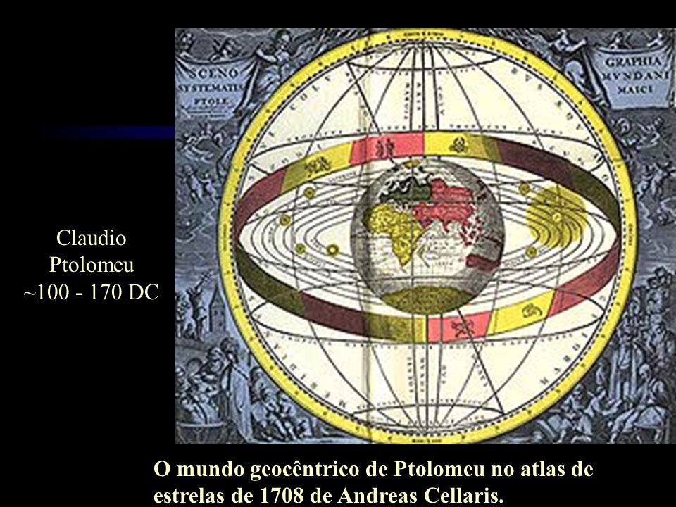 Claudio Ptolomeu. ~100 - 170 DC.