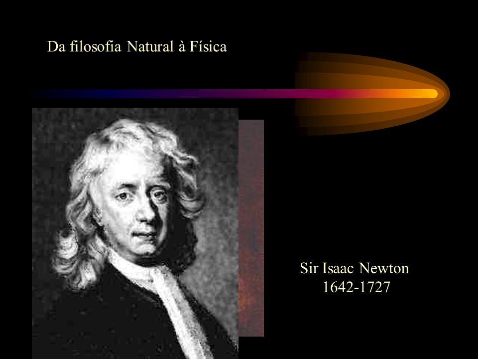 Da filosofia Natural à Física