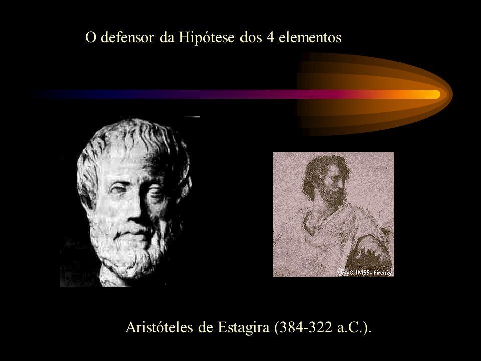 O defensor da Hipótese dos 4 elementos