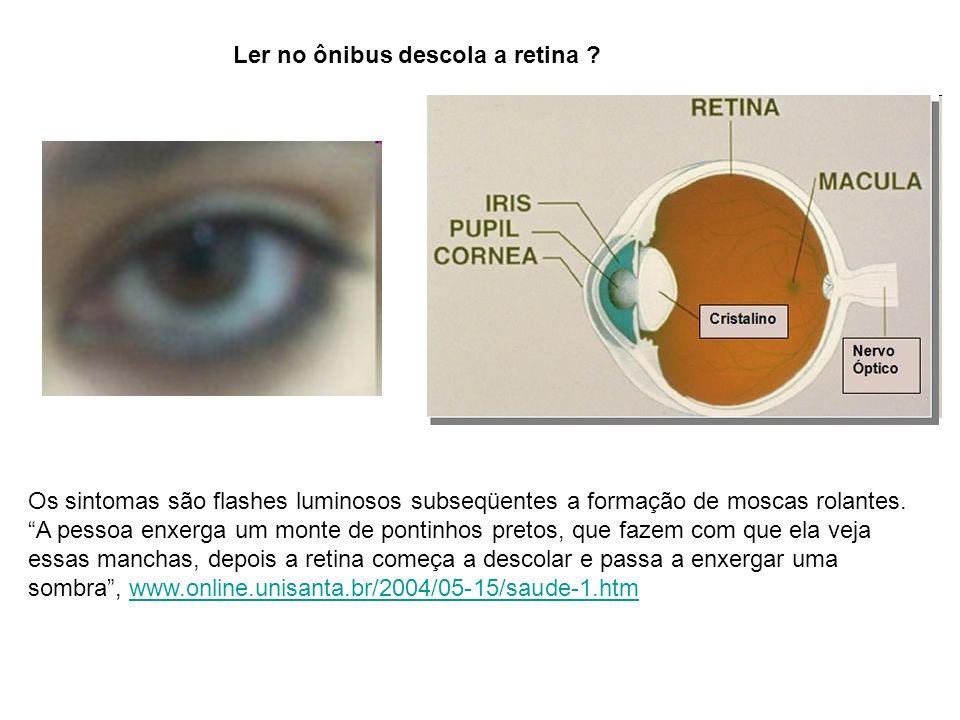 Ler no ônibus descola a retina