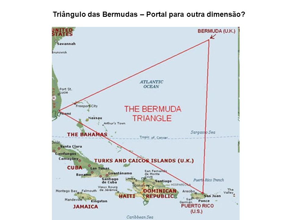 Triângulo das Bermudas – Portal para outra dimensão