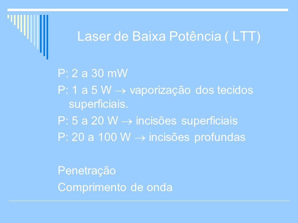 Laser de Baixa Potência ( LTT)