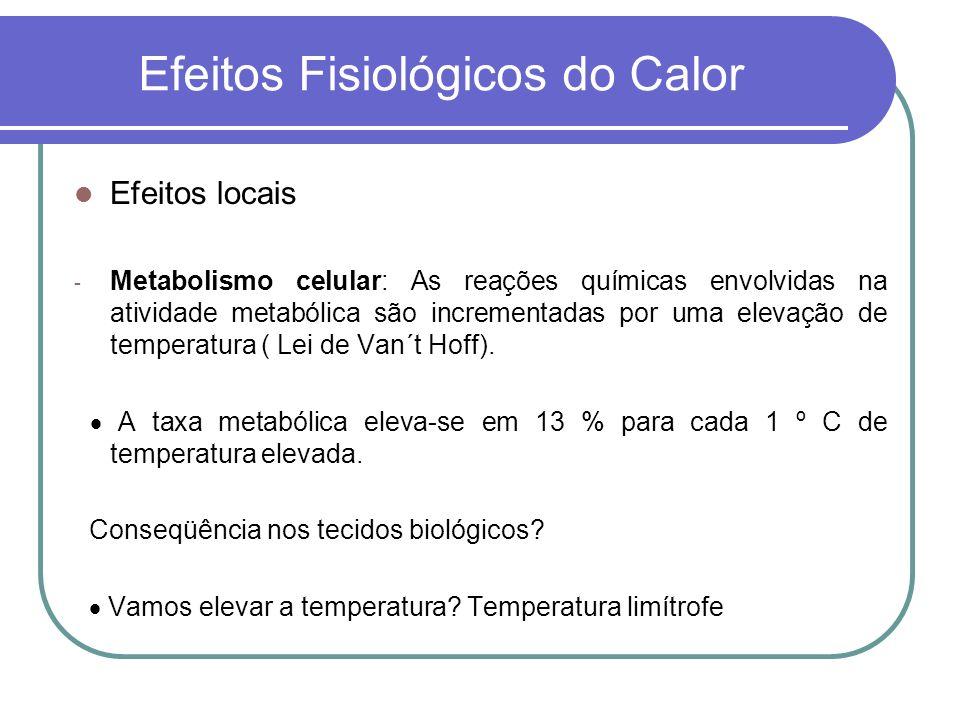 Efeitos Fisiológicos do Calor