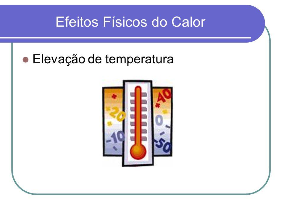 Efeitos Físicos do Calor
