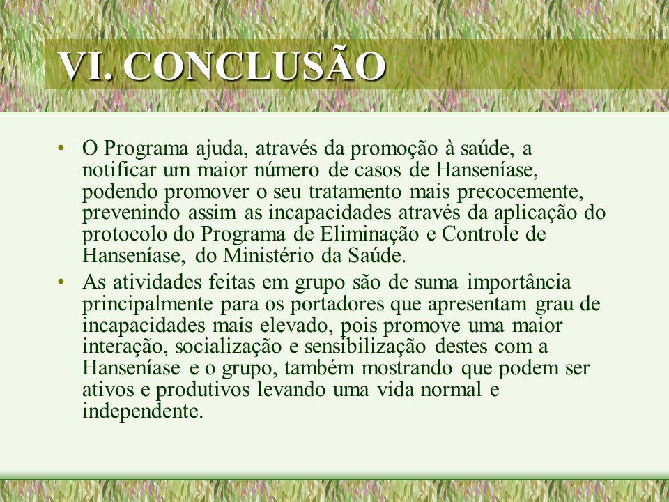 VI. CONCLUSÃO