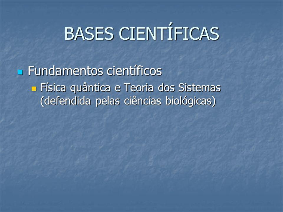BASES CIENTÍFICAS Fundamentos científicos