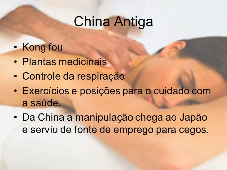 China Antiga Kong fou Plantas medicinais Controle da respiração