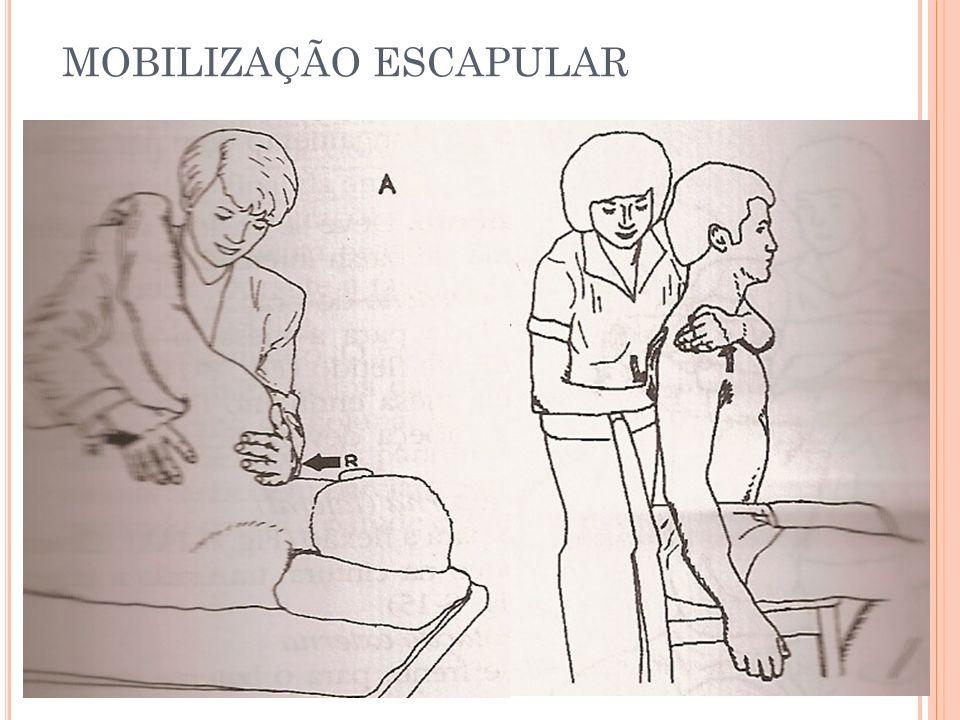 MOBILIZAÇÃO ESCAPULAR