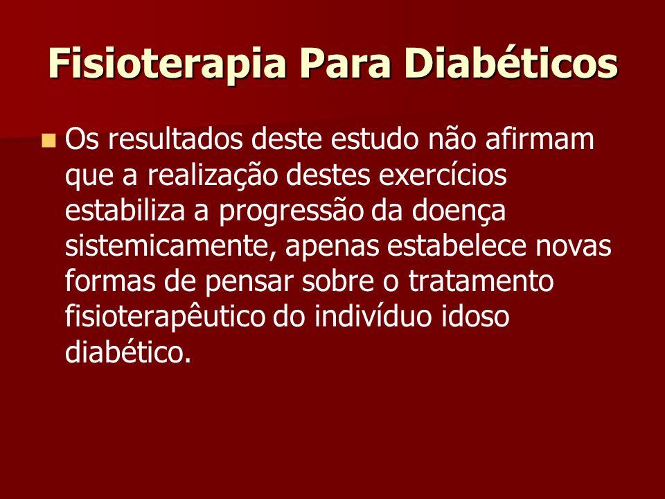 Fisioterapia Para Diabéticos