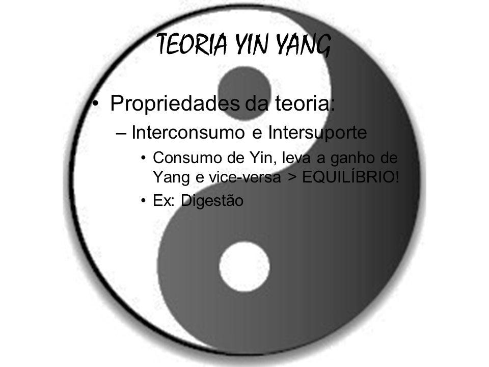 TEORIA YIN YANG Propriedades da teoria: Interconsumo e Intersuporte