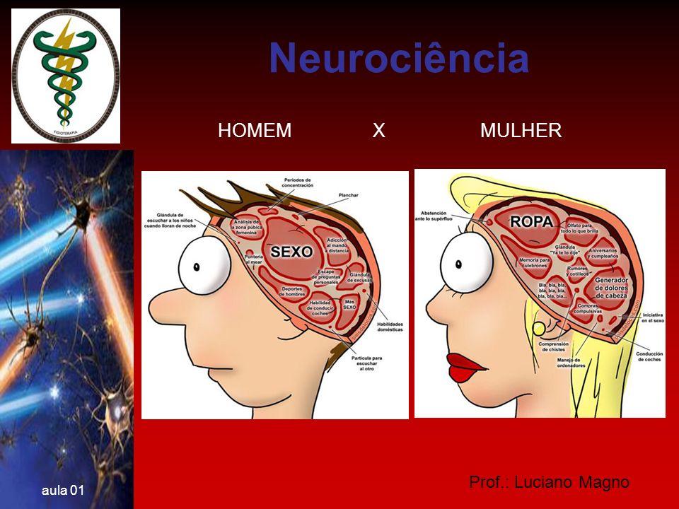 Neurociência HOMEM X MULHER Prof.: Luciano Magno aula 01